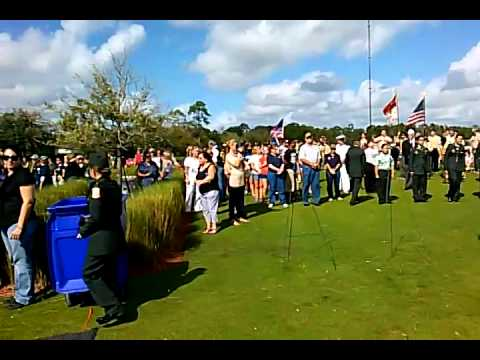 Ceremonial Wreath Laying at South Florida National Cemetery