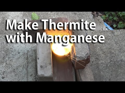 Make Thermite with Manganese Dioxide