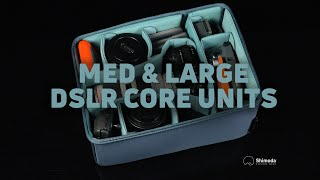 Shimoda Medium amp Large DSLR Core Units - Version 2 with Side Access Camera Bag Inserts