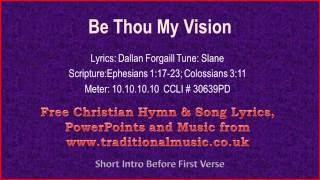 Be Thou My Vision - Hymn Lyrics & Music(v2)