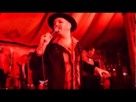 Urban Voodoo Machine - Love Song # 666 Live at Bristol Spiegeltent 2012