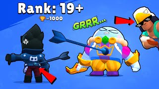 Rank 19+ King LOU vs BO - Brawl Stars Funny Pose Animation #7