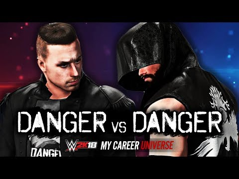 CHRIS DANGER vs MAX DANGER!! | WWE 2K18 My Career Universe Mode