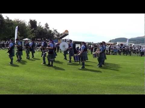 Islay Pipe Band @ Cowal, August 2012