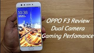 Hindi I Oppo F3 Review I Dual Camera Gaming Perfomance