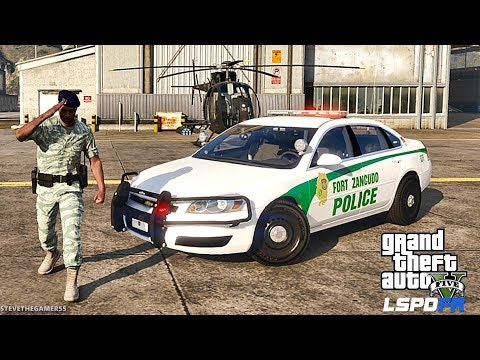 LSPDFR #571 - MILITARY PATROL (GTA 5 REAL LIFE POLICE PC MOD) HAPPY 4TH OF JULY