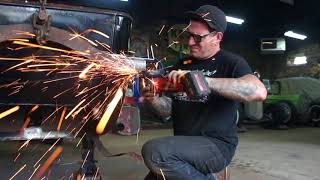 Stepping A 1946 Ford Chassis For Axle Clearance - Ford Free-T - Ep. 28