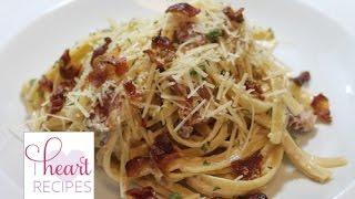 Dinner For Two : Alfredo Carbonara - I Heart Recipes