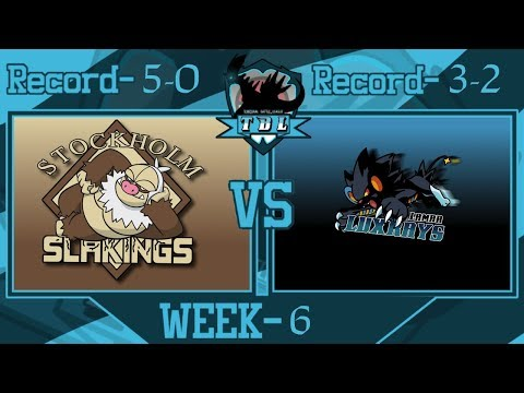 """""""Nothing Lasts Forever""""   TBL S2 W6 Stockholm Slakings vs Lamar Luxrays"""
