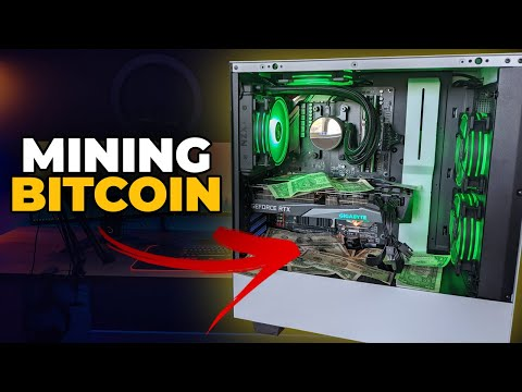 Using NiceHash To Mine Bitcoin W/ Your Gaming PC!