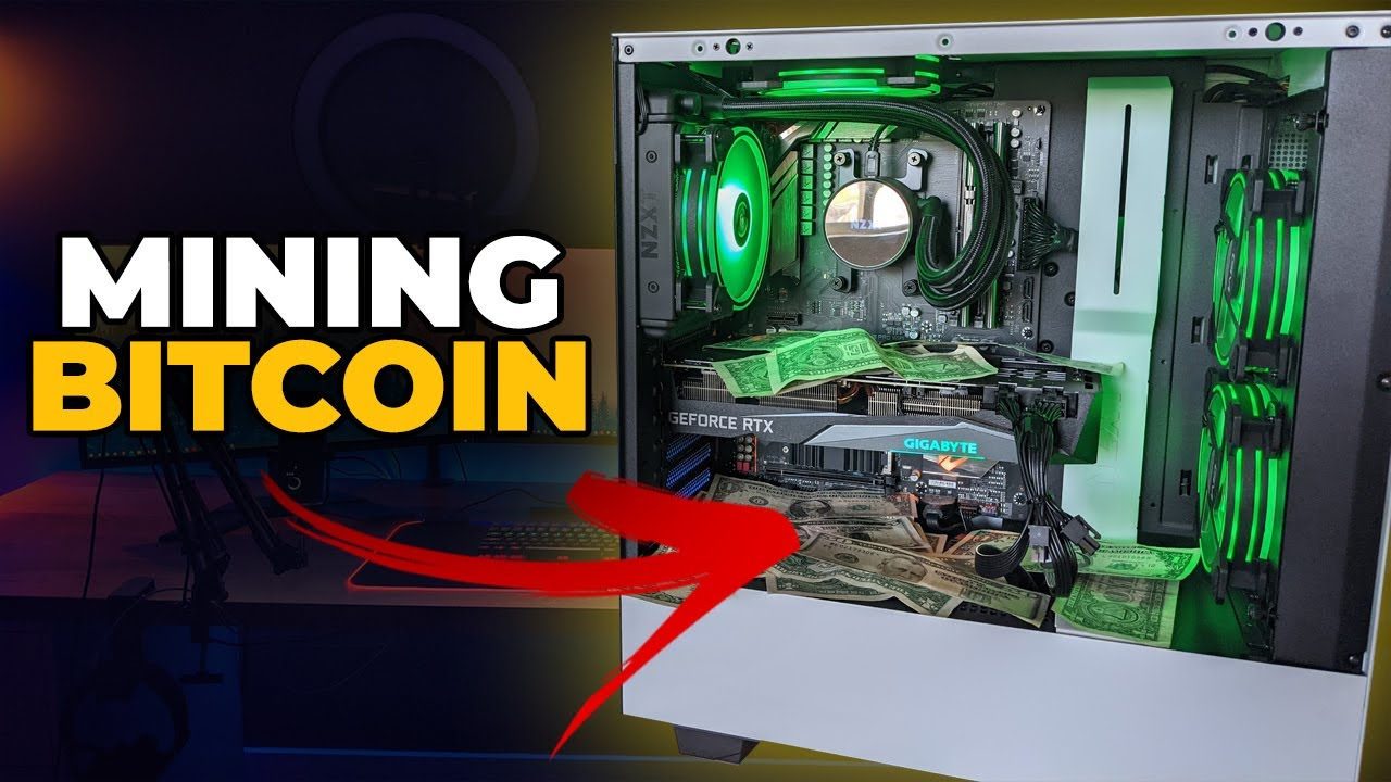 Download EASILY Mine Bitcoin w/ Your Gaming PC!