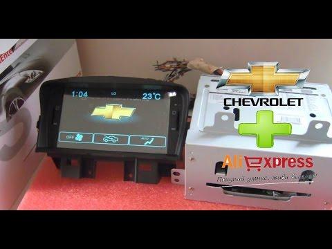 магнитола для Chevrolet Cruze Gps + Камера заднего вида с Aliexpress