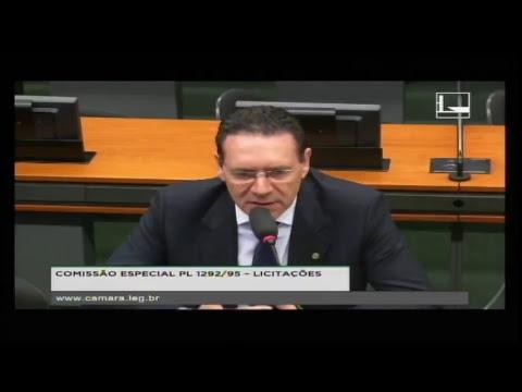 PL 1292/95 - LICITAÇÕES - Reunião Deliberativa - 16/05/2018 - 16:24