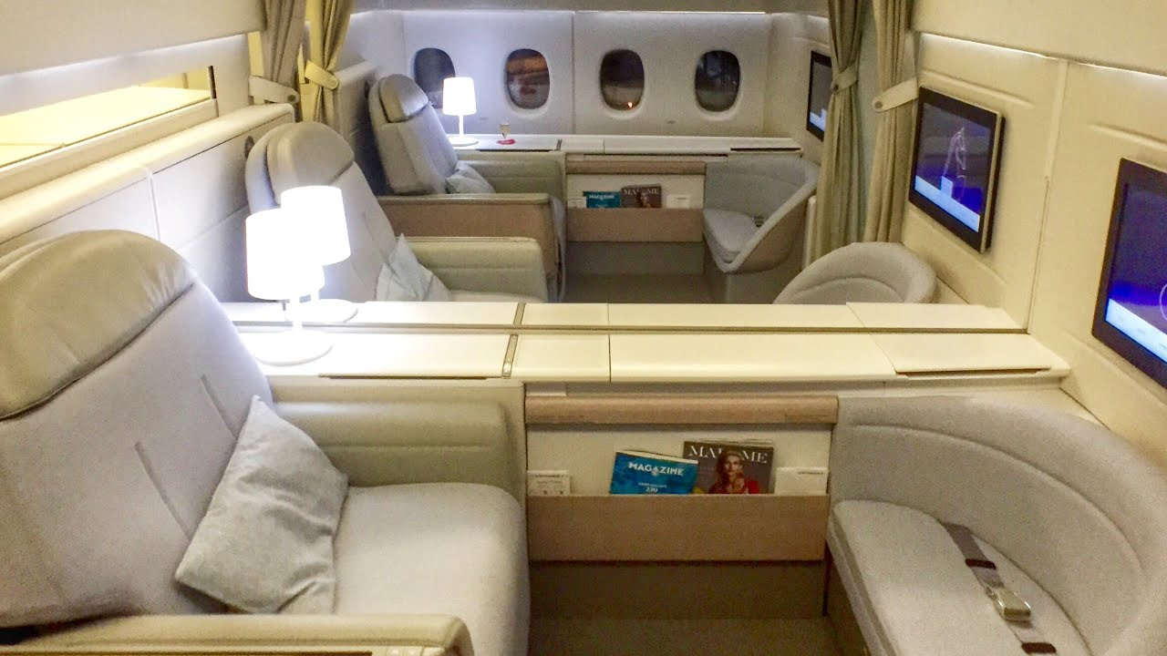 Air france first class new la premiere cabin youtube sciox Image collections