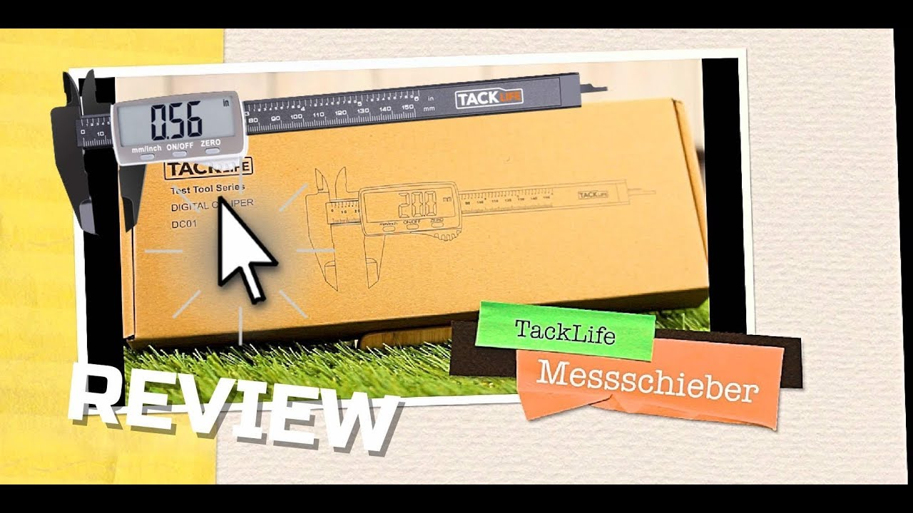 digitaler messschieber test 9 99 tacklife mit digitaler anzeige youtube. Black Bedroom Furniture Sets. Home Design Ideas