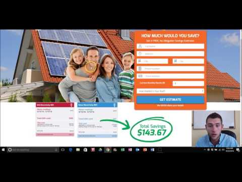 Understanding Your Solar Lead Capture Pages | www.RunWithSolar.com