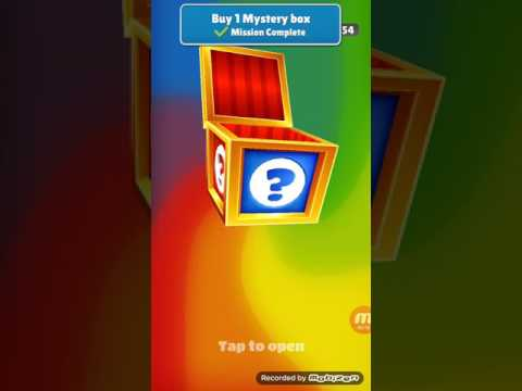 Subway Surfers :- Buy 1 Mystery Box. 1 Left