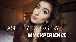 My Laser Eye Surgery! Diary + Review