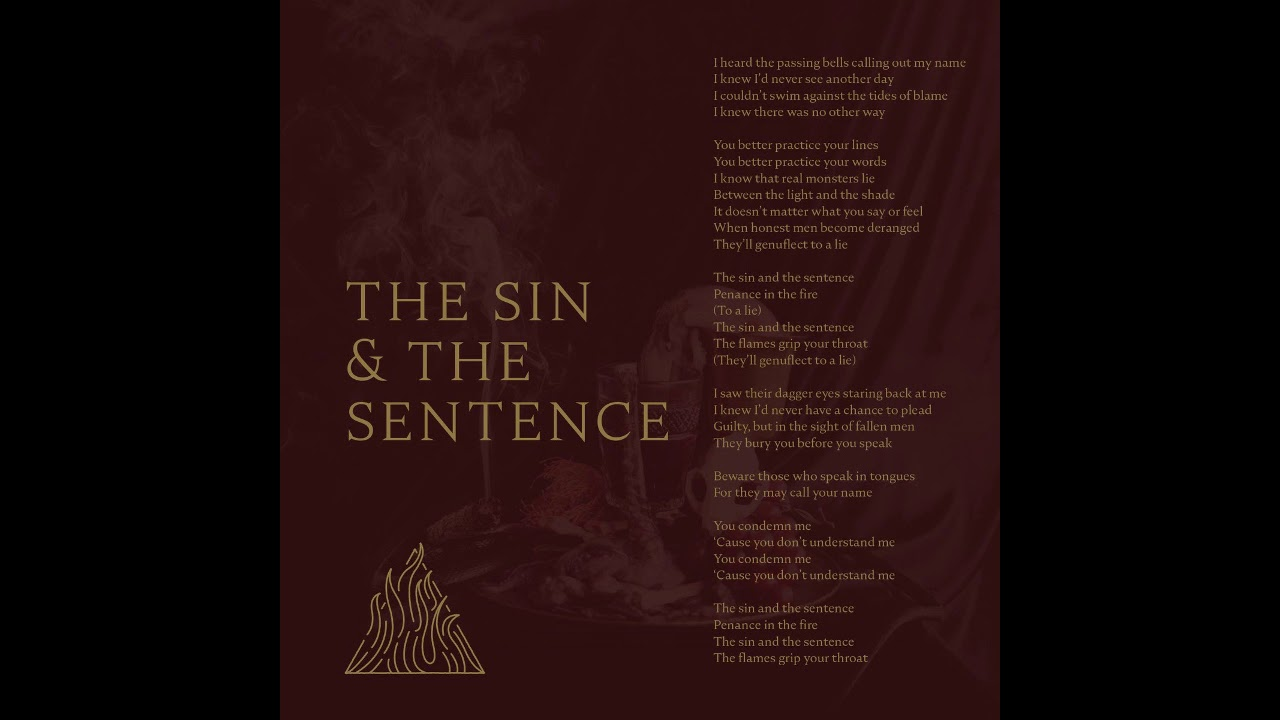 Trivium - The Sin And The Sentence(INSTRUMENTAL/VOCAL BACKING TRACK)