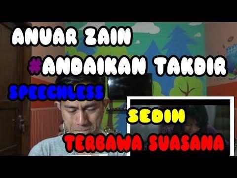 ANUAR ZAIN #ANDAINYA TAKDIR - Orang Indonesia Mereaksi Lagu Malaysia#27