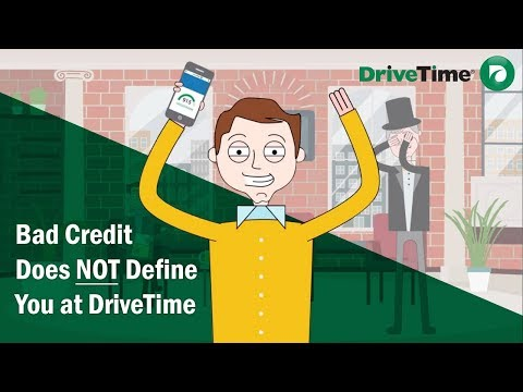 Bad Credit Does NOT Define You at Drive Time