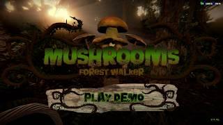 Mushrooms Forest Walker Demo Gameplay