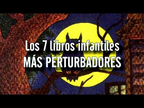 TOP: Los 7 libros infantiles más perturbadores | Angel David Revilla (Dross)