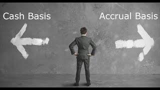 cash basis and accrual basis accounting