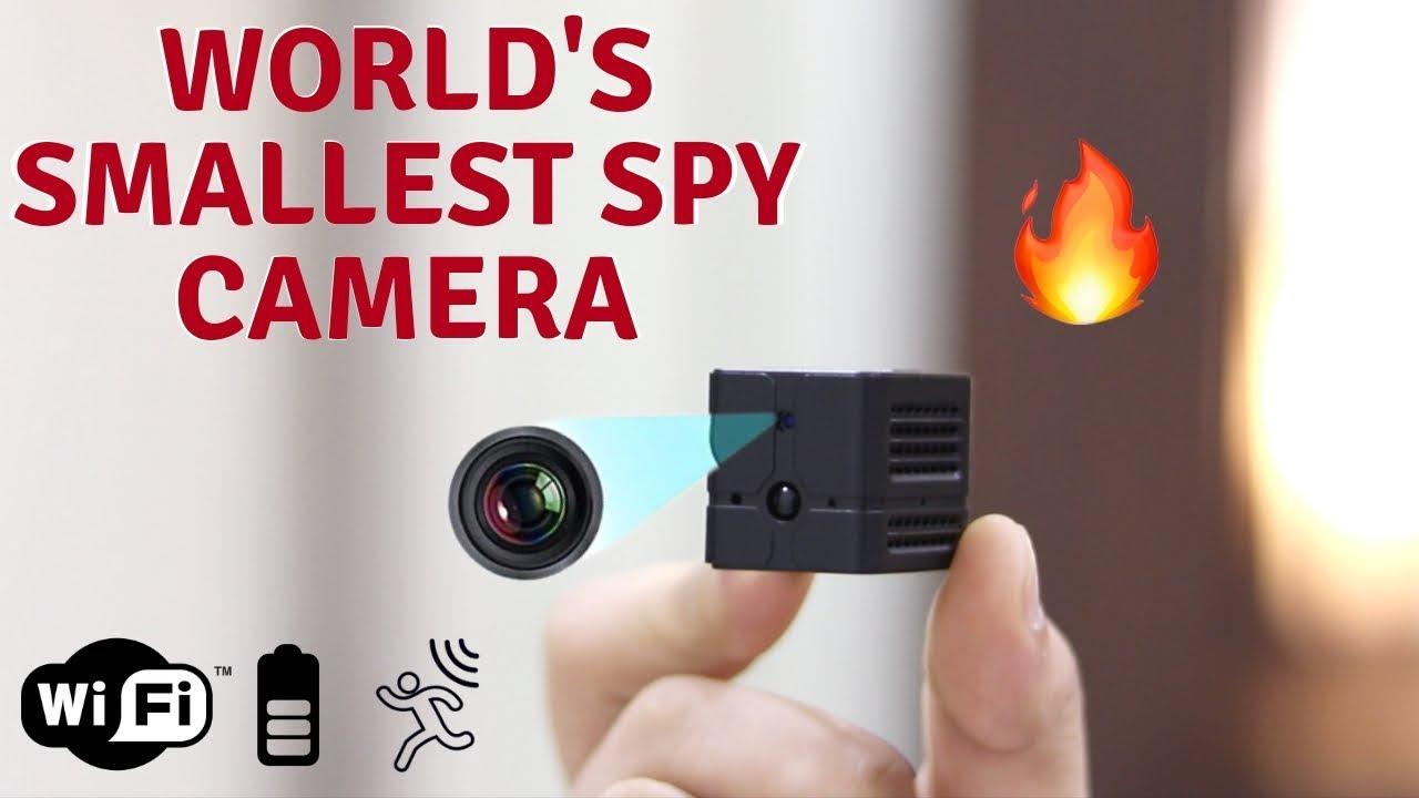 World's Smallest Spy Camera | Ehomful Mini Wifi Camera E002 | Tech Unboxing  🔥