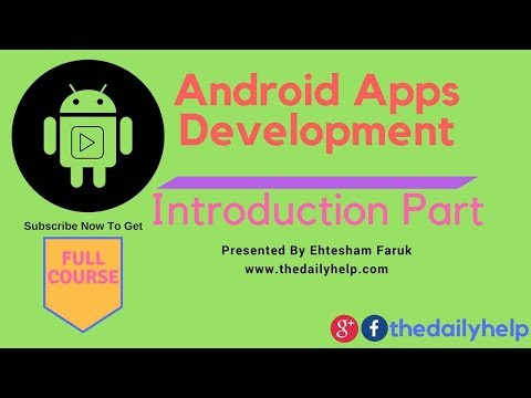 Android Studio Introduction