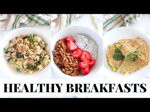 HEALTHY BREAKFAST RECIPES: easy, meal prep friendly, paleo recipes