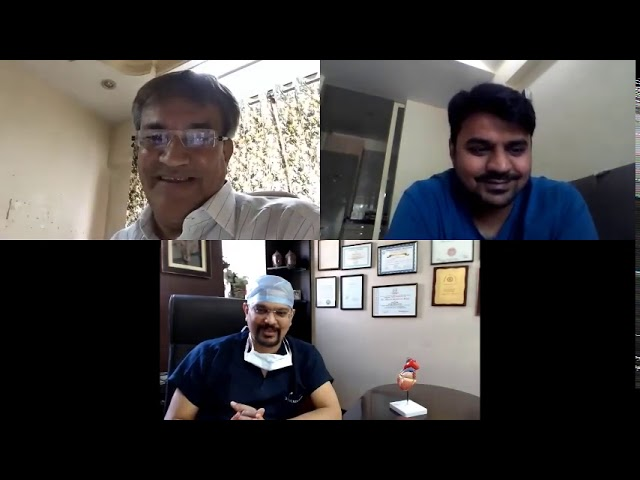 Zoom Call with Dr. Dhiren Shah