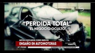 Pérdida total, negocio oculto de automotoras  -  Reportaje Chilevisión