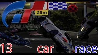 Gran Turismo 1 - A thirteen car race! #granturismo #granturismo1