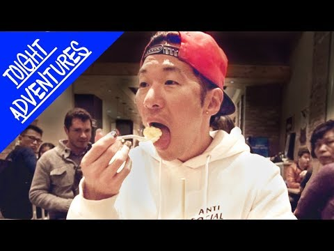 Screaming BTS Lyrics while Eating (KPOP IN PUBLIC)