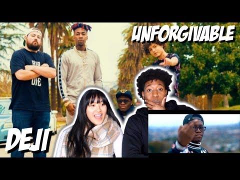 DEJI X JALLOW X DAX X CRYPT - UNFORGIVABLE (KSI DISS TRACK)   MUSIC VIDEO REACTION