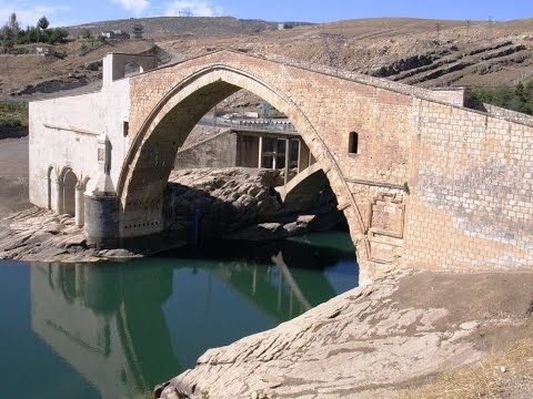 Malabadi bridge Turkey ,Մալաբադի կամուրջ  Բաթմանի կամուրջ ,   Мост Малабади