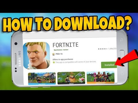 HOW TO PLAY FORTNITE MOBILE ON ANY ANDROID FOR FREE! (DOWNLOAD APK NO VERIFICATION)
