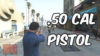 GTA 5: .50 Cal Pistol Gameplay   DLC