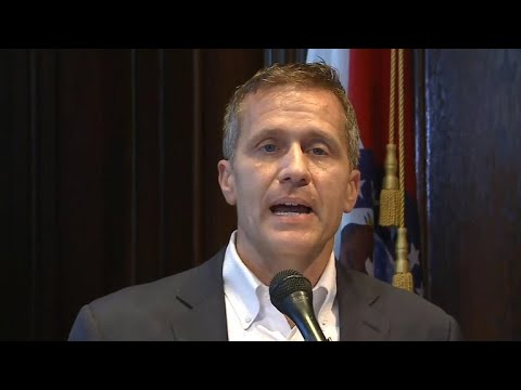 Embattled Missouri Gov. Eric Greitens resigns