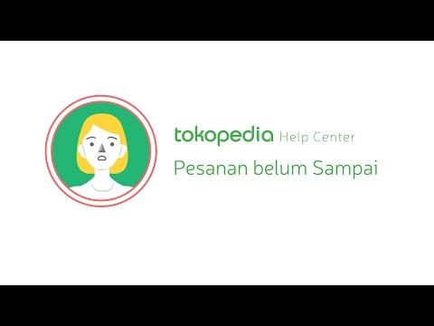 Tokopedia Help Center - Pesanan belum Sampai