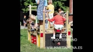 Juegos infantiles para patios de colegios - Martín Mena