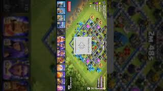 30 Electro dragons Vs town hall 12 max base