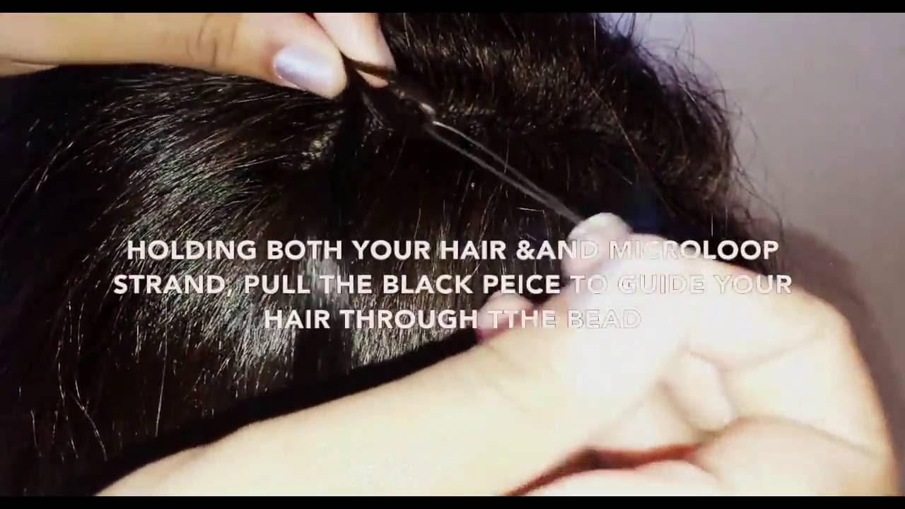 Diy how to install micro ring loop hair extensions youtube diy how to install micro ring loop hair extensions pmusecretfo Gallery
