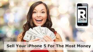 Sell My iphone 5 For Cash - RecellCellular Video