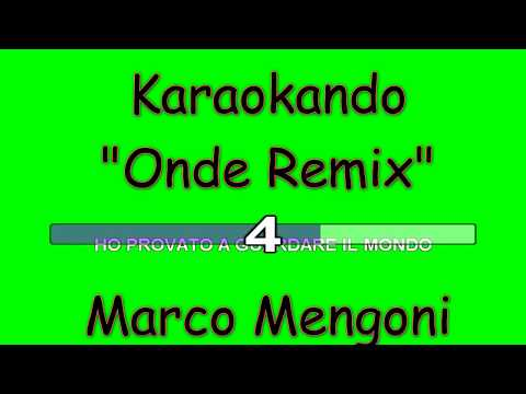 Karaoke Italiano - Onde Sondr Remix - Marco Mengoni ( Testo )