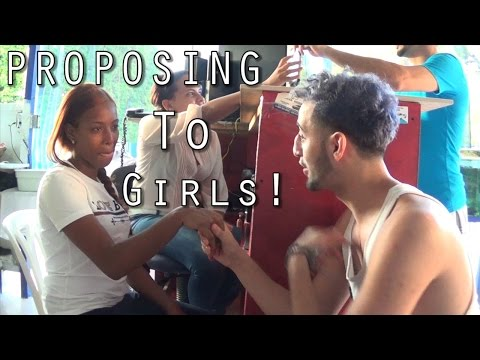 PROPOSING TO GIRLS IN DOMINICAN REPUBLIC