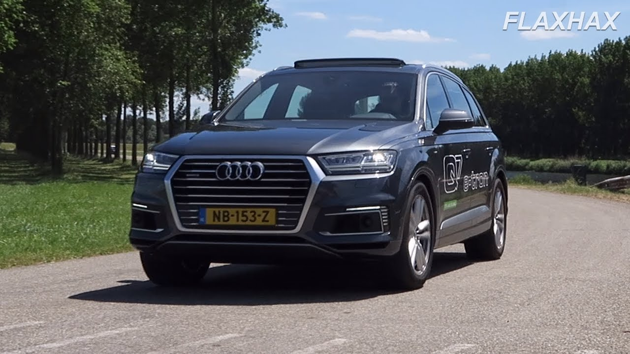 2017 Audi Q7 E Tron Quattro Full Review Plug In Hybrid With A V6
