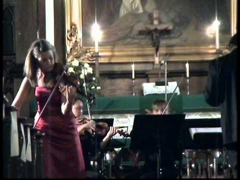 Sarasate Carmen Fantasy. Anna-Liisa Bezrodny. (Arr. for Violin & String Orchestra)