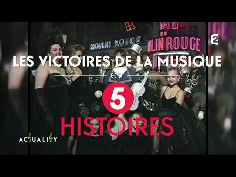 Les Victoires de la Musique en 5 histoires AcTualiTy
